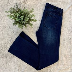 Kut From the Cloth Dark Wash Bootcut Jeans